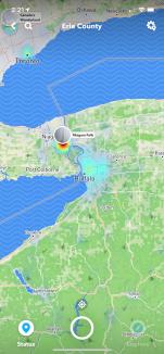 Snap-map (Snapchat)